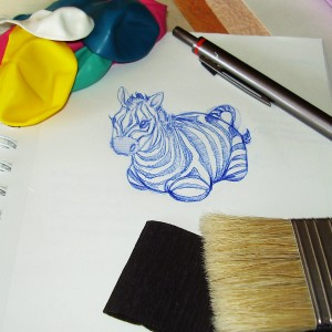 Pinata Project - Zebra